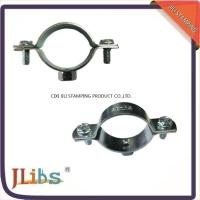 China 18mm-200mm Size Galvanized Pipe Clamps Plumbing Clamps Brackets Standoff Pipe Clamps wholesale