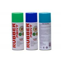 China 400ML Green Rubber Coat Spray Paint , Exterior Blue.green ,red Plasti Dip Wheel Paint wholesale