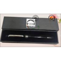 China Luxury Rigid Cover Office Paper Box , Hard Cardboard Pen Presentation Packaging Box wholesale