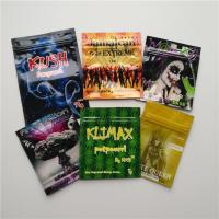 China Herbal Incense Small Plastic Pouches Edible Gummies Bears Frogies Candies Bag wholesale