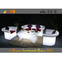 China 16 colors changeable LED Bar Tables / LED leisure table , Lighting cocktail table wholesale