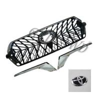 China Chrome Adge Car Front Grill For Toyota Prado Fj200 2016-2018 OE Standard wholesale