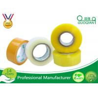 China 80M Length Clear Water Resistant Bopp Adhesive Tape High Temperature wholesale