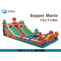 China super mario slide playground giant inflatable slide for adults and kids wholesale