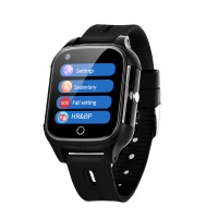 China 4G WIFI GPS Smart Watch for Elderly seniors Geo-Fence Android OS  SOS smart phone watch wholesale