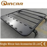 China Universal Alininum 4x4 Car Roof Luggage Rack Adjustable Size Black Color wholesale