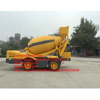 China 4 M3 mobile self loading concrete mixer with Cummins engine self-loading concrete mixer truck for sale wholesale