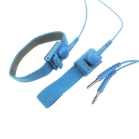 China 10ft Long 10mm Snap 2.4 Meter Coil ESD Wrist Straps wholesale