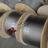 China 304 7x7 1mm Stainless Steel Wire Rope with Weight 4kg per 1000m sZ on sale
