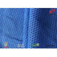 China Functional Cooldry Athletic Jersey Mesh Fabric , Sports T Shirt Fabric Novelty wholesale