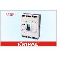 China 630A 3 Pole Mccb Circuit Breaker Overload Short Circuit And Under Voltage Protection wholesale