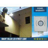 China 1200lm Solar Powered LED Street Lights 350 * 310 * 45MM 5 years Warranty on sale
