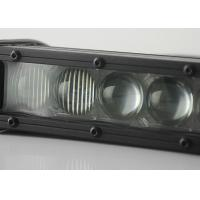 China Single Row 4D Offroad Light Bar , 5W CREE Chips 60 W Combo Beam Light Bar wholesale