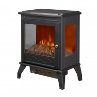 China MIDDLE ELECTRIC STOVE ND-18D5C 3 SIDES FAME VIEW LED FIREPLACE PORTABLE HEATER wholesale