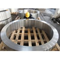 China DIN 34CrNiMo6 Hot Rolled  Forged Steel Rings Hardness 30HRC - 40HRC Customized , Round Steel Blanks wholesale