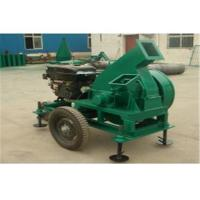 China Diesel Wood Chipper Machine For Garden Wood Cutter 25 - 35 mm Chips wholesale