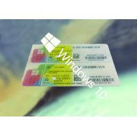 Buy cheap 100% Original COA License Sticker Genuine Online Activate Multi Language from wholesalers