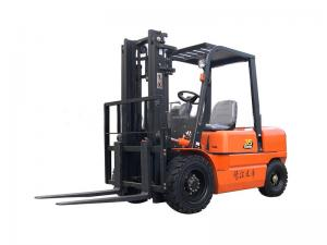 China ISO 20km/H 3.5 Ton Forklift , CPCD35 Diesel Forklift Truck wholesale
