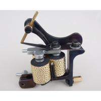 China 10 Wrap Coils pure cuprum handmade tattoo machines Gun for shading wholesale
