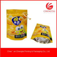 Buy cheap CMYK / Pantone Color Pet Food Use Stand Up Packaging Pouches With Zipper Lock from wholesalers