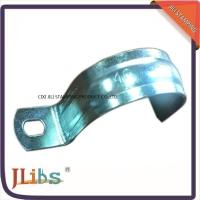 China No Screw ISO9001 Metal Tube Brackets Without Rubber , High Temperature Resistance wholesale