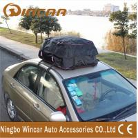 Quality 1000 D Tarpaulin Roof Top Cargo storage Bag for 4x4 car / auto Travelling from for sale