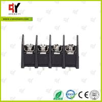 China 300V / 30A 9.5mm  Connector Terminal Block PA66 UL94V-0 Material wholesale