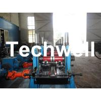 China C Section Channel Roll Forming Machine with Gearbox Drive for Making Steel C Purlin wholesale