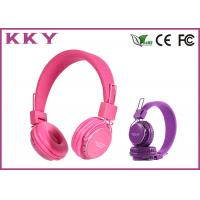China Music On Ear Bluetooth Headphones Noise Reduction Headphones With TF Card wholesale