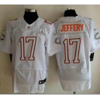 China NFL 2014 Pro Bowl jersey chicago bears 17 Alshon Jeffery white wholesale