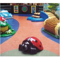 China Colored Thin Recycled Rubber Matting Rolls Commercial Rubber Flooring on sale