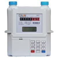 China Aluminum Material Smart STS Keypad Meter , Prepay Gas Meter Low Credit Warning wholesale