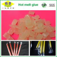 China Light Yellow EVA Hot Melt Packaging Adhesive for Beverage Packing , Food Grade wholesale