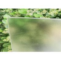Buy cheap Ultra White Clear Solar Module Glass Panel 91.7% Transmittance Low Iron Tempered from wholesalers