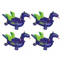 China EN71 CE Giant Rideable Sea Dragon Inflatable Pool Floats / Cool Pool Toys For Kids wholesale