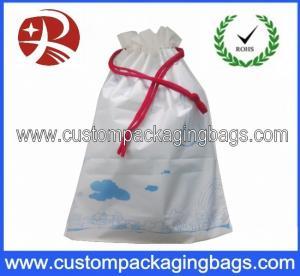 China Custom PEVA Drawstring Plastic Bags Light Weight For Sport , shopping on sale