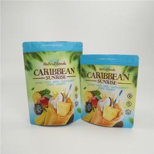 China Dried Fruit Snack Bag Packaging Zipper Custom Printed Aluminum Foil Waterproof wholesale