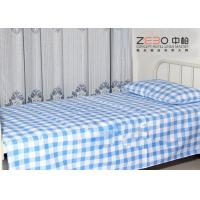 China Easy Clean Hospital Bed Sheet Striped Fitted Bed Sheets OEM / ODM Accept wholesale