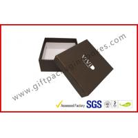 China Embossed Apparel Gift Boxes Paper Wrapping Box Silver Logo Moisture Proof wholesale