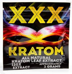 China 3g Xxx Kratom Powder Ziplock Bag / Kratom Herbal Incense Packaging Bag wholesale