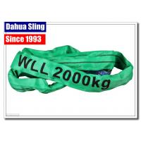 China Single Ply Round Endless Sling Heavy Duty Recovery Straps With Logo Printed wholesale