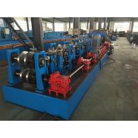 China Hydraulic Standing Seam Roll Former , C Channel Roll Forming Machine For Steel Constructions wholesale