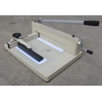 China Guillotine Paper Cutter WD-858A4 wholesale