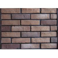 China Multipul Color 3D Cement Faux Exterior Brick With Wall Decoration wholesale
