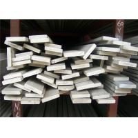 China ASTM Stainless Steel Flat Bar , 10mm - 200mm Width Flat Steel Bar wholesale