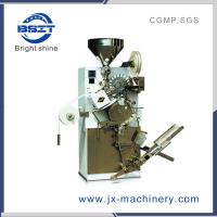 China High Speed single chamber  tea  packing machine Model DXDC8I with thread and tag and capacity 120 bags/min wholesale