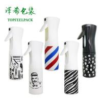 China Plastic Trigger Cosmetic Spray Bottle 300ml 200ml Salon Water Continuous Container wholesale