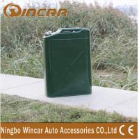 China Vertical Zinc Plated 4X4 Off-Road Accessories Oil Tank For Car wholesale