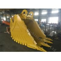 China Mining Rock Excavator Grapple Bucket Scrap Grab Machine With Hardox Material wholesale