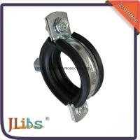 China 18mm-200mm Dia Cast Iron Pipe Clamps with 45+-5° Shore Hardness wholesale